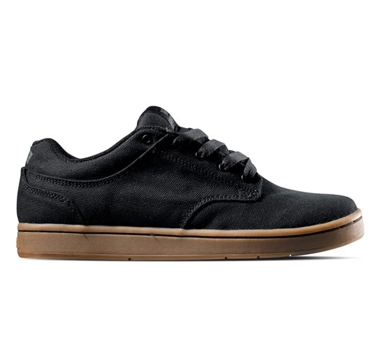 Supra Footwear - Dixon (Black Gum Canvas)