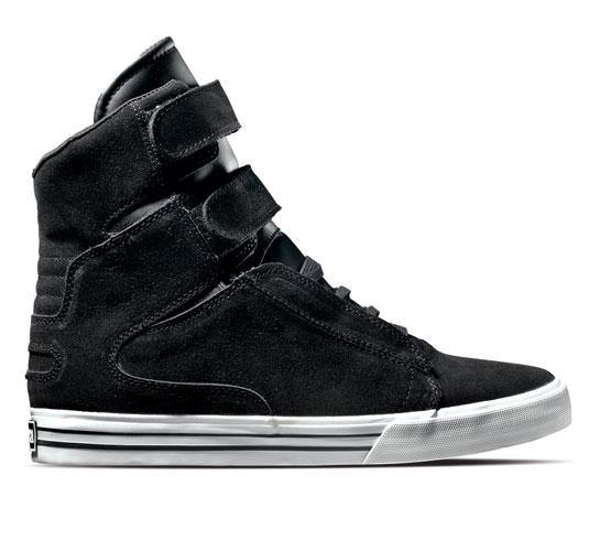 Supra Footwear - Tk Society (Black Suede)