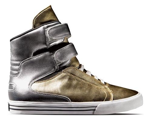Supra Footwear - Tk Society Ltd (Gold / Silver)