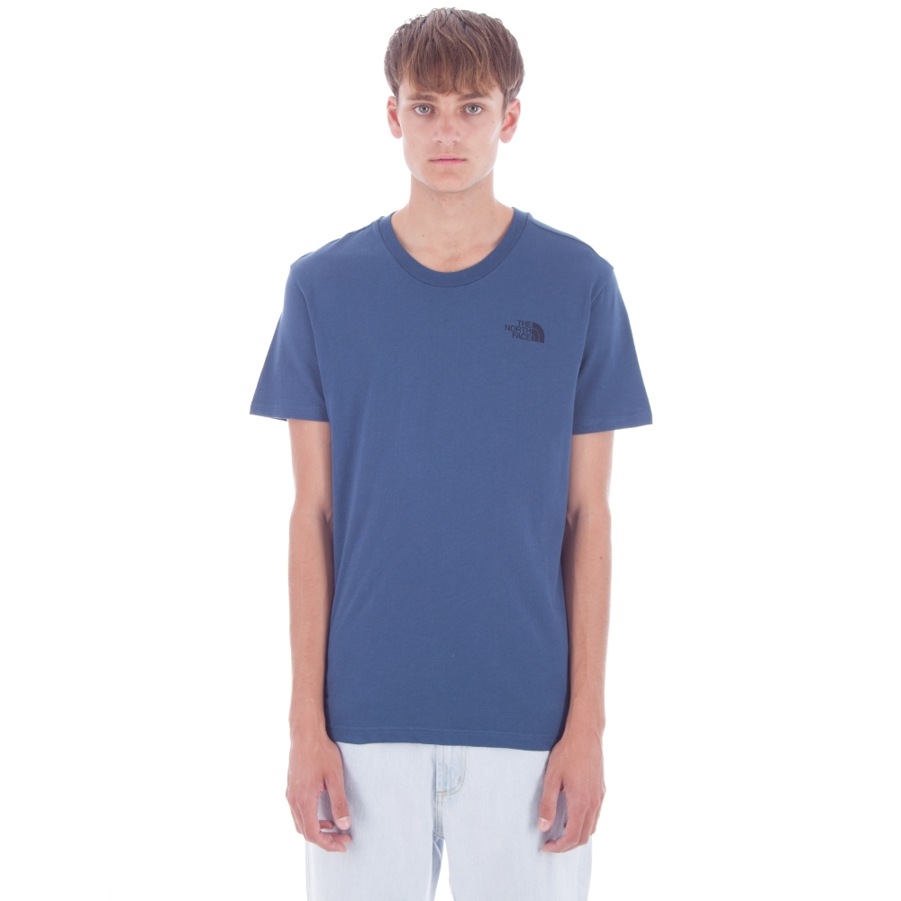 The North Face Simple Dome T-Shirt (Shady Blue)