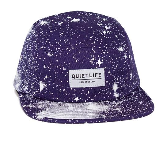 The Quiet Life Cosmos 5 Panel Camper Hat (Purple)