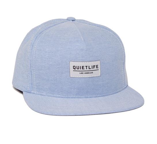 The Quiet Life Oxford Snapback Cap (Blue)