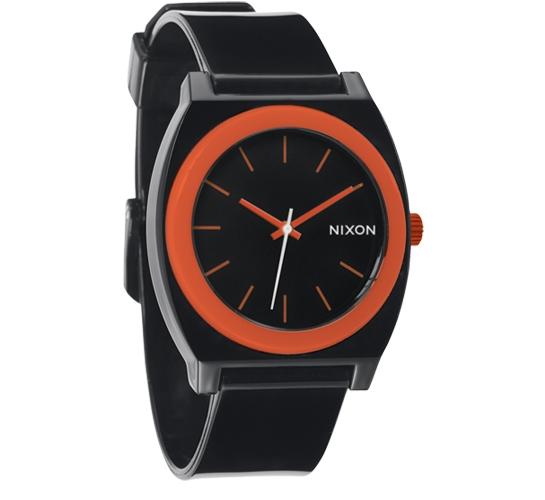 Nixon The Time Teller P Watch (Black/Orange)
