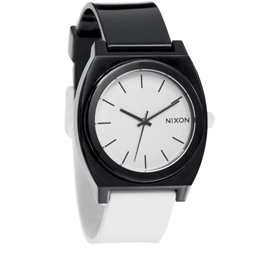 Nixon The Time Teller P Watch (Black/White)
