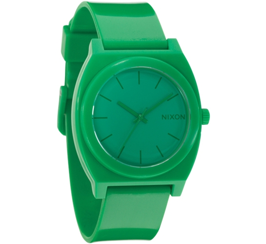 Nixon The Time Teller P Watch (Green)