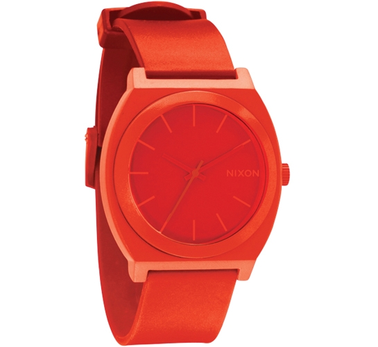 Nixon The Time Teller P Watch (Red)