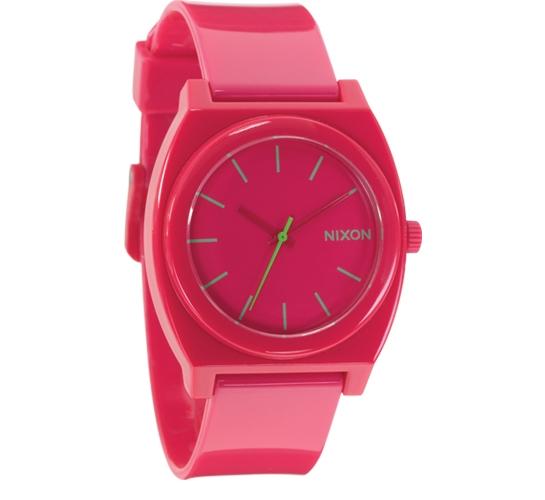 Nixon The Time Teller P Watch (Rubine)