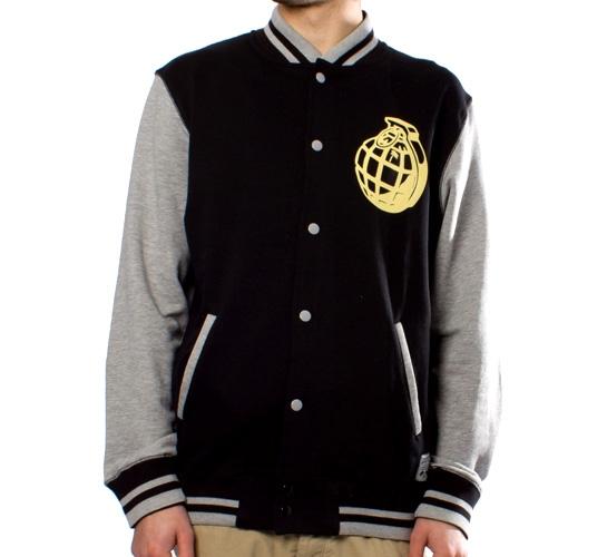 Trainerspotter Baseball Sweat Jacket (Black)