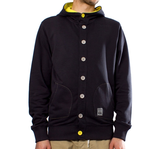 Trainerspotter Button Hood (Navy)