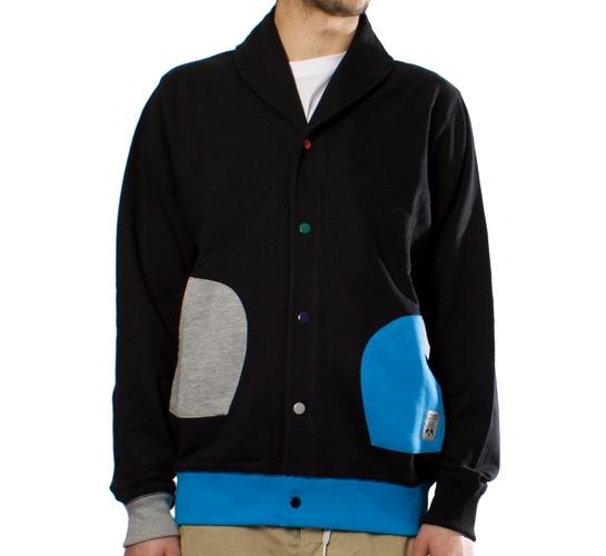 Trainerspotter Odd Pocket Cardigan (Navy)