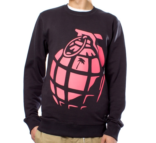 Trainerspotter Grenade Crew (Navy/Pink)