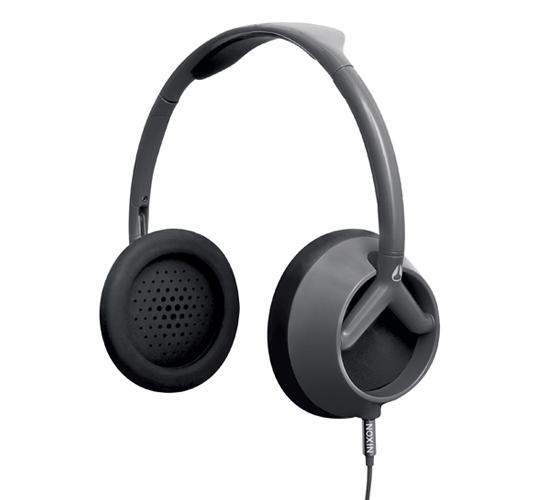 Nixon Trooper Headphones (Silver/Black)