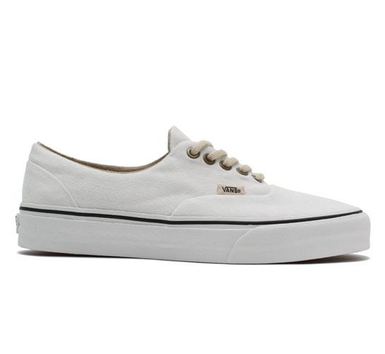 Vans California Era Reissue Shoes (White Canvas)