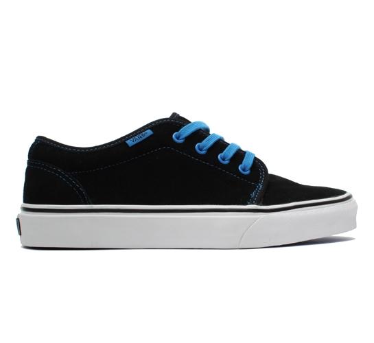 Vans 106 Vulcanized (Black/French Blue)