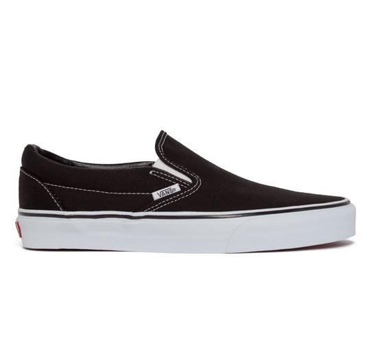 Vans Classic Slip-On (Black)