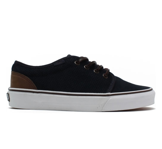 Vans California 106 Vulcanized Shoes (Navy Perf Suede)