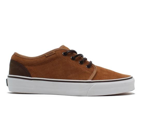 Vans California 106 Vulcanized Shoes (Chipmunk Perf Suede)