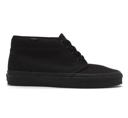 Vans Chukka Boot (Black Canvas/Black)