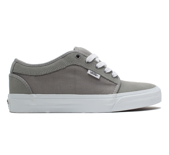 Vans Skate Shoes - Chukka Low (Grey/White)