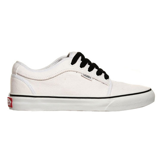 Vans Skate Shoes - Chukka Low (White/White)