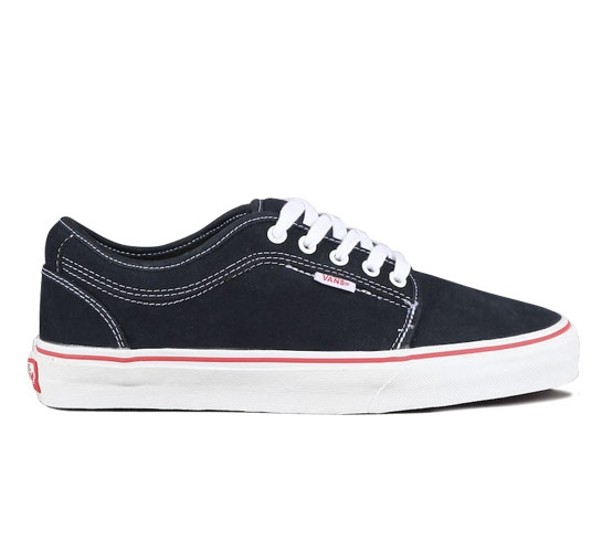Vans Skate Shoes - Chukka Low (Ferguson/Navy/Red)