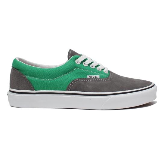 Vans Skate Shoes - Era (Smoked Pearl/Fern Green)