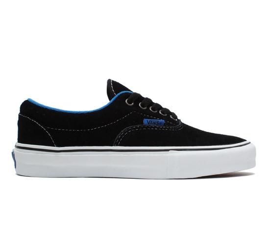 Vans Skate Shoes - Era Pro (Black/Blue)