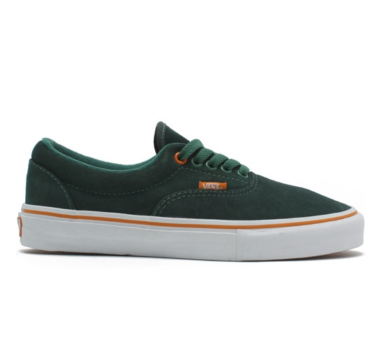 Vans Era Pro Skate Shoes (Dark Ivy/Orange)