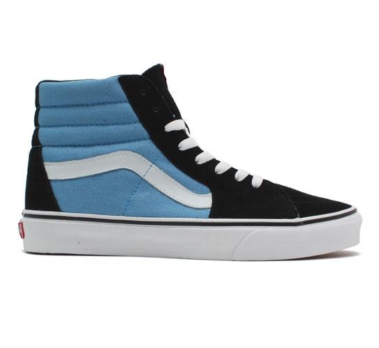 Vans SK8-Hi - Streetstyle (Bonnie Blue/Black)