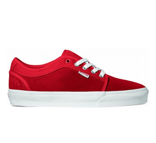 Vans Skate Shoes - Chukka Low (Spitfire/Flame Red)