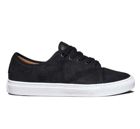 Vans Skate Shoes - Versa (Black/White)