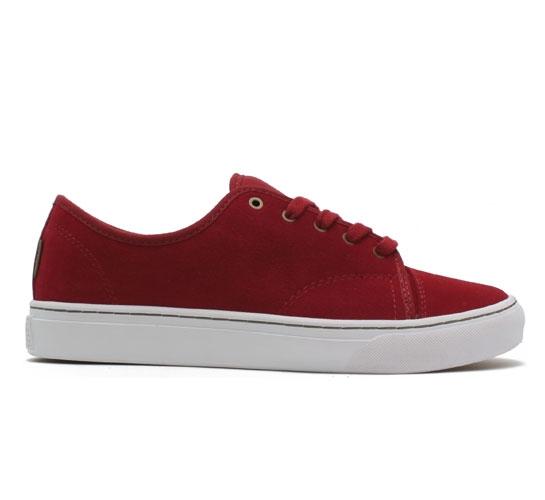 Vans Versa Skate Shoes (Dark Scarlet)