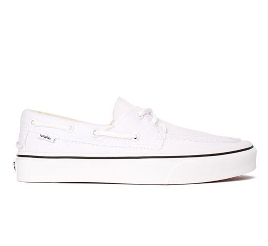 Vans Zapato Del Barco (True White)