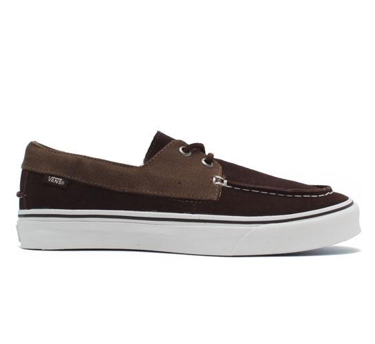Vans California Zapato Slip Shoes (Coffee Bean/Cub)