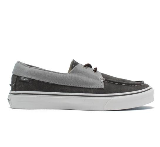 Vans California Zapato Slip Shoes (Gunmetal/Limestone)