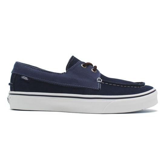 Vans California Zapato Slip Shoes (Peacoat/Ensign Blue)