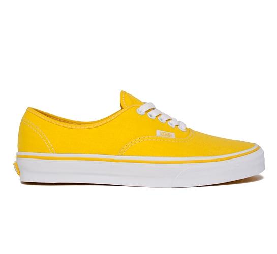 Vans Authentic (Yellow/True White)