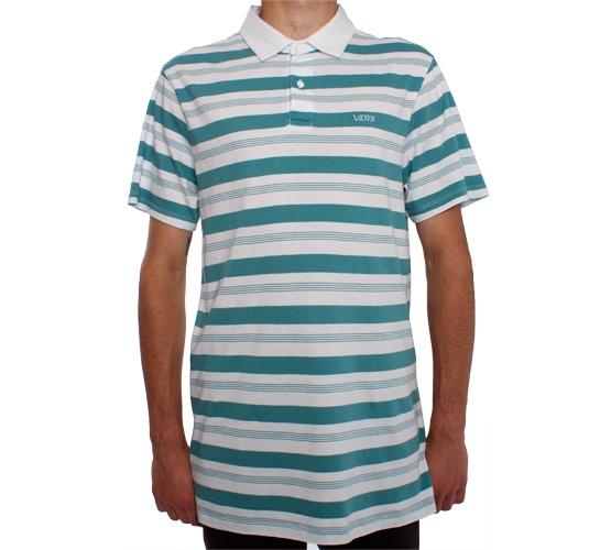Vans Barno Polo Shirt (White)