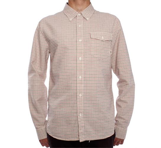 Vans Beaumont Shirt (Egg White Grid)