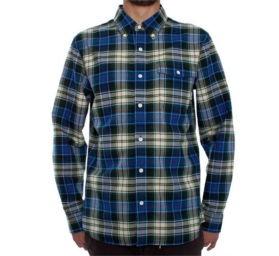 Vans Beaumont Shirt (Electric Blue Plaid)