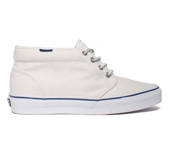 Vans California Chukka Boot (White Heavy Canvas)