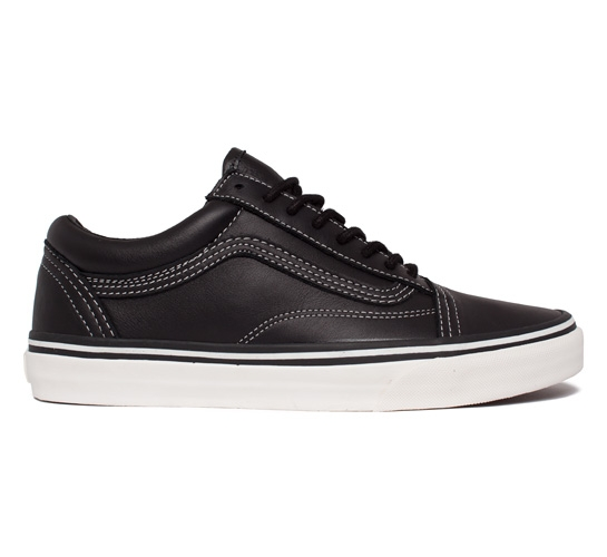 Vans California Old Skool Reissue CA Leather (Black/Whisper White)