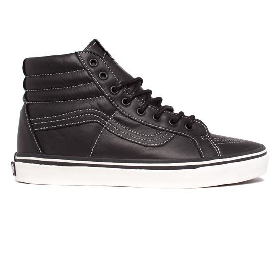 Vans California SK8-Hi Reissue CA Leather (Black/Whisper White)