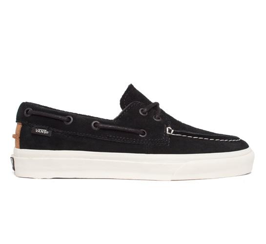 Vans California Zapato Del Barco CA Perf (Black)