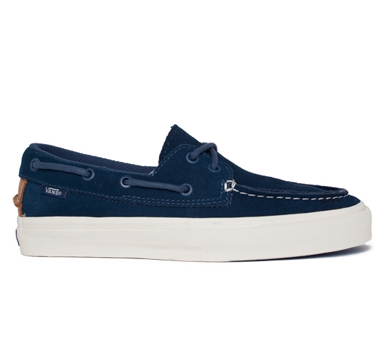 Vans California Zapato Del Barco CA Perf (Blue)