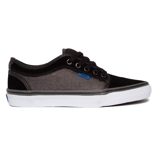 Vans Chukka Low (Black/Charcoal/Herringbone)