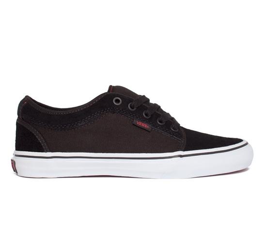 Vans Skate Shoes - Chukka Low (Forever/Black/Red)