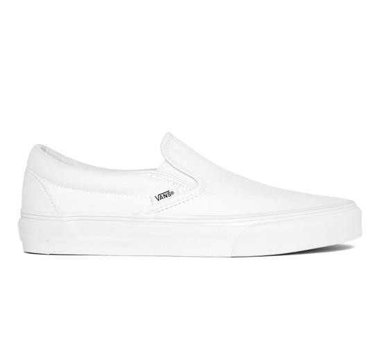 Vans Classic Slip-On (True White)