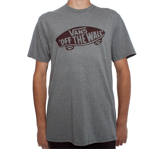 Vans OTW T-Shirt (Rock Grey Heather/Cabernet)
