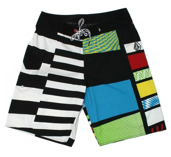 Volcom Men's Shorts - Crazy 8 Mod (White)